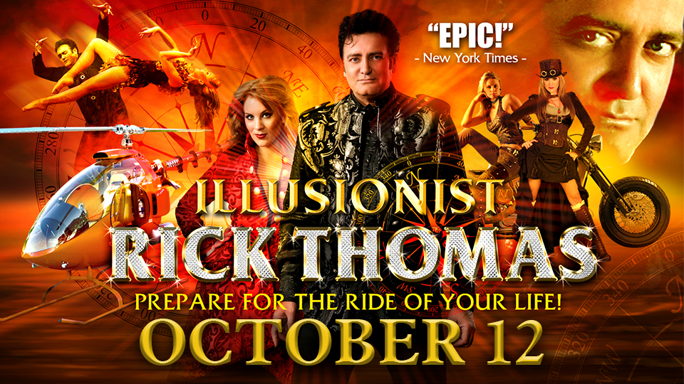 Illusionist Rick Thomas - October 12