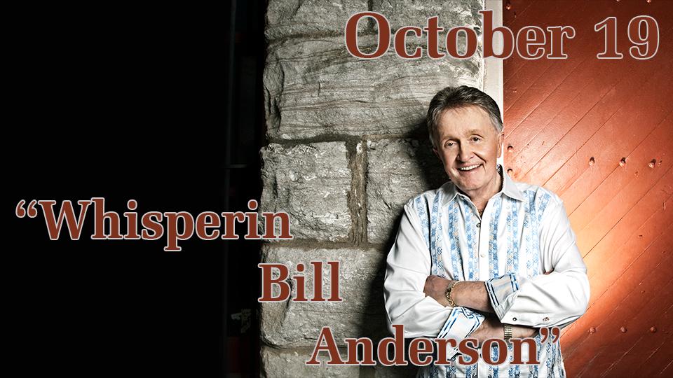 Bill Anderson - October 19