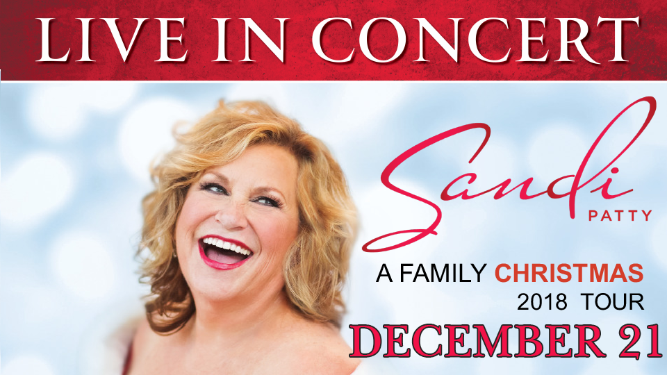 Sandi Patty &quote; A Family Christmas&quote;  - December 21
