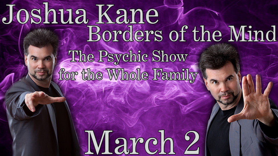 Joshua Kane: Borders of the Mind - March 2