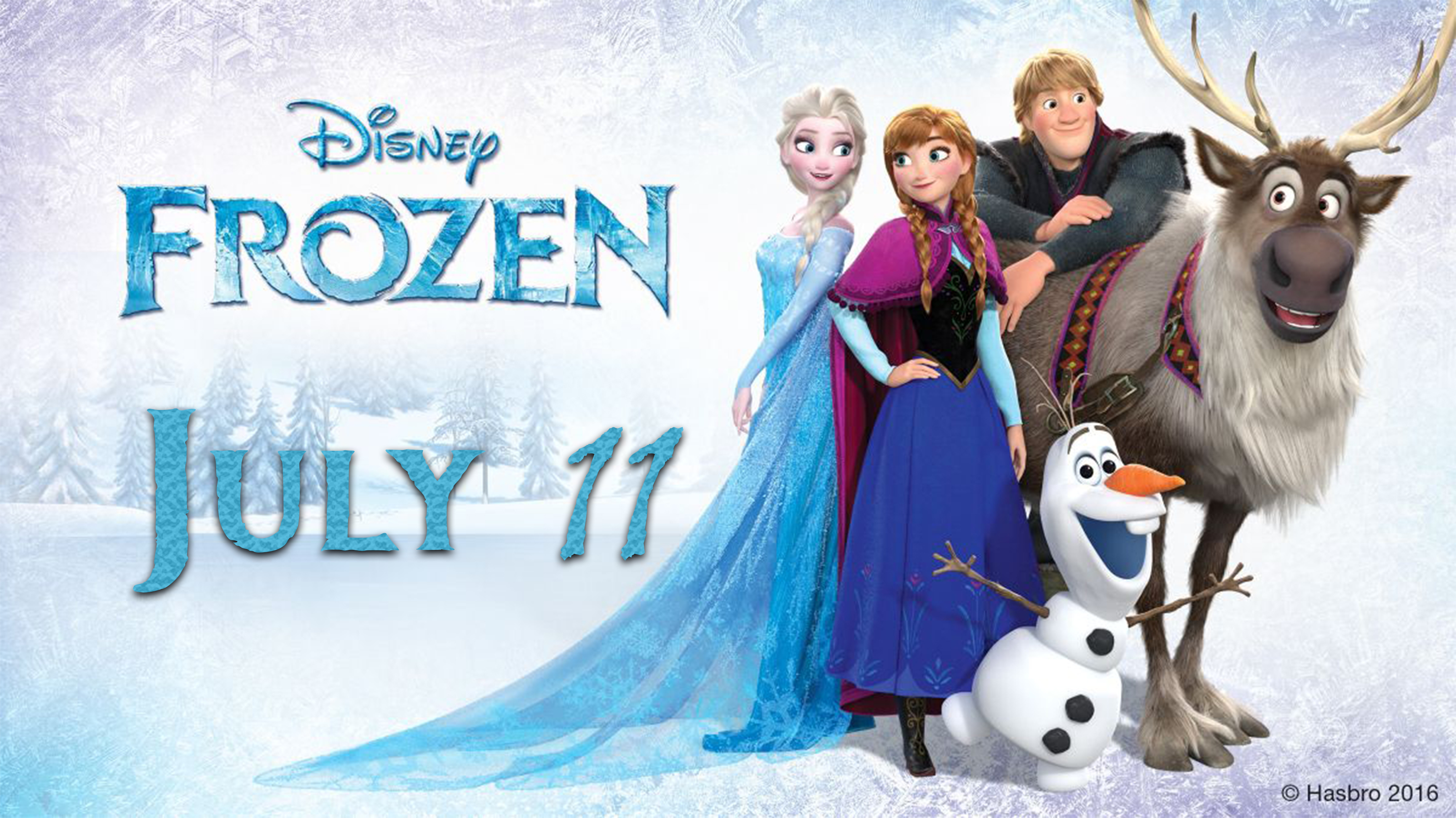 Frozen - July 11