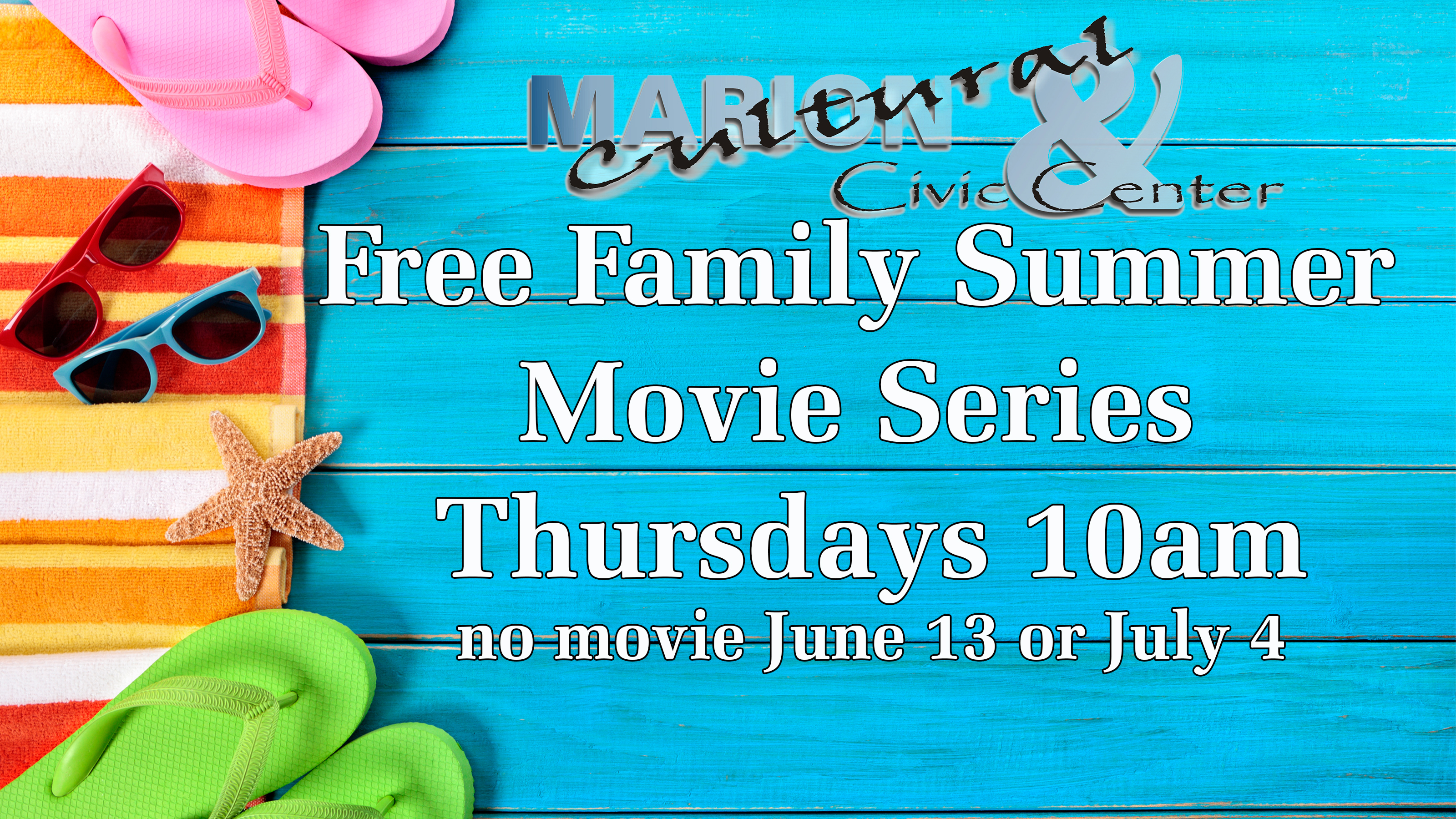 Free Family Summer Movie Series