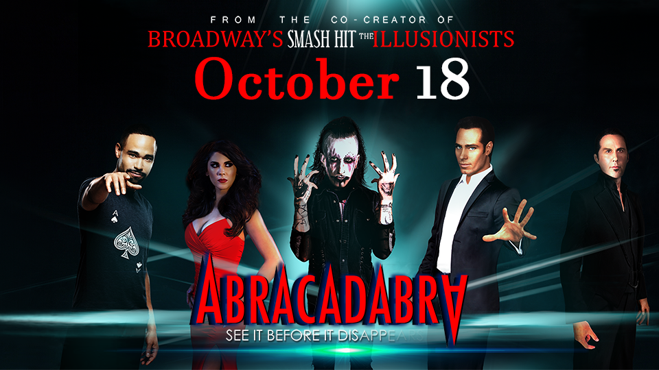 Abracadabra - October 18