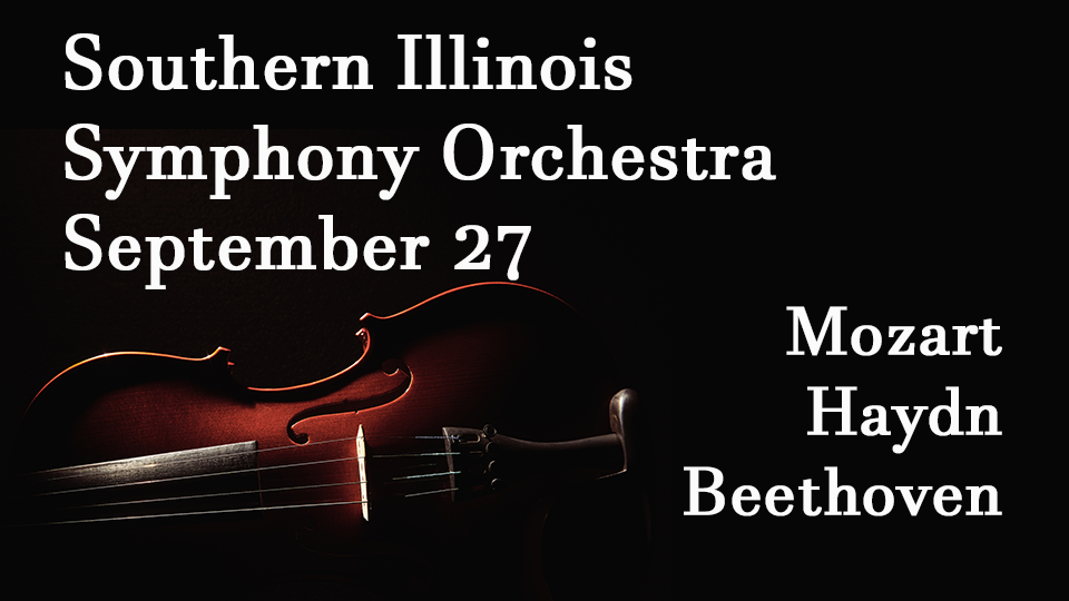 Southern Illinois Symphony Orchestra - September 27