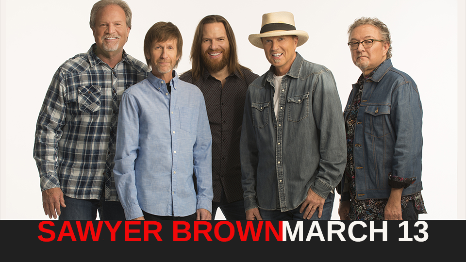 Sawyer Brown - March 13