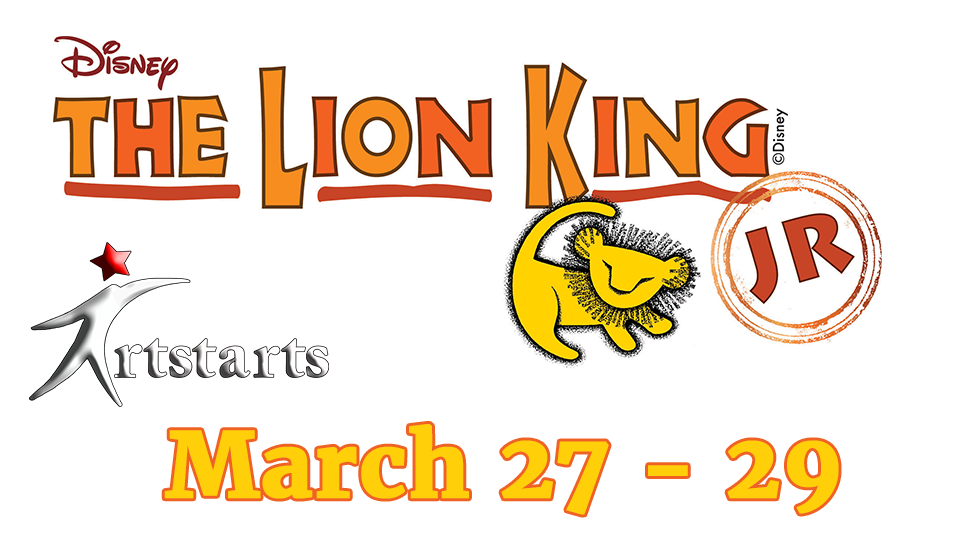 Lion King Jr - March 27 - 29