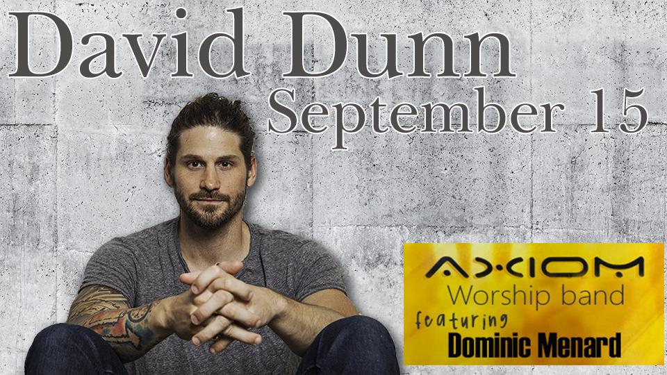 David Dunn - September 15