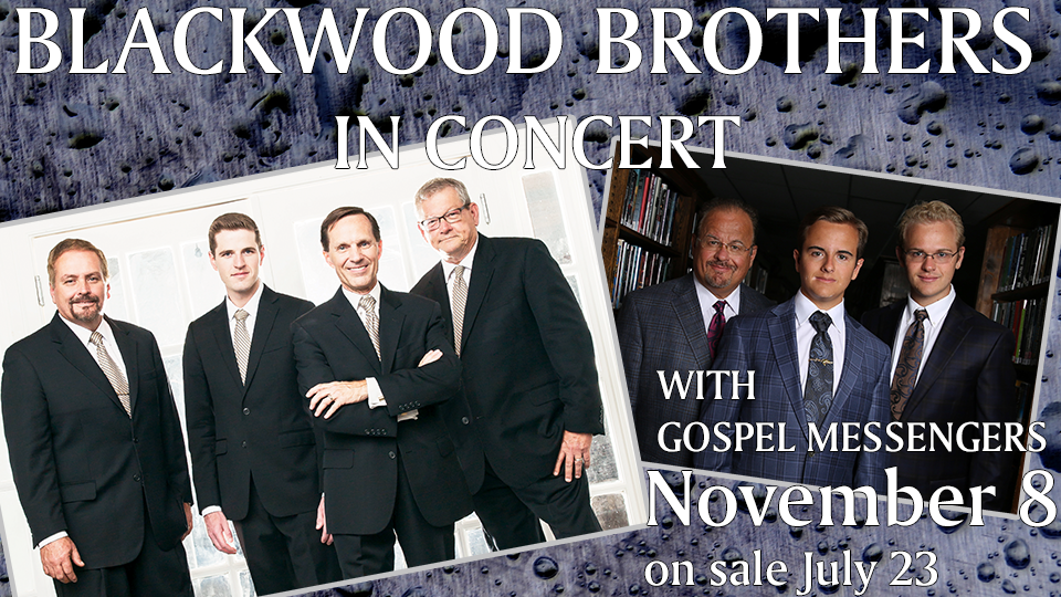 Blackwood Brothers with Gospel Messengers - Nov 8