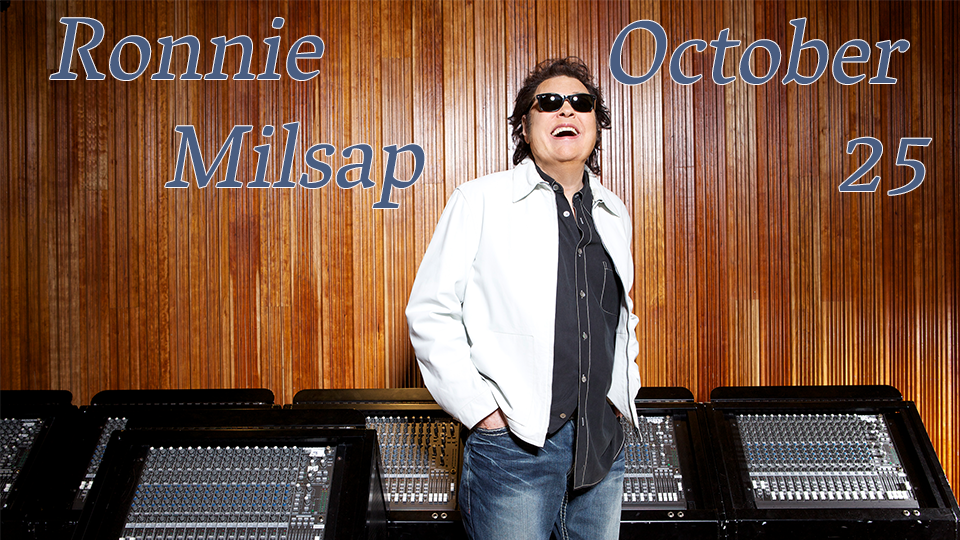 Ronnie Milsap - October 25