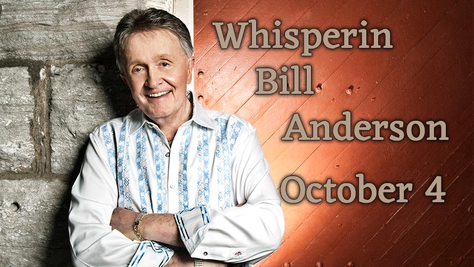 Bill Anderson - October 4