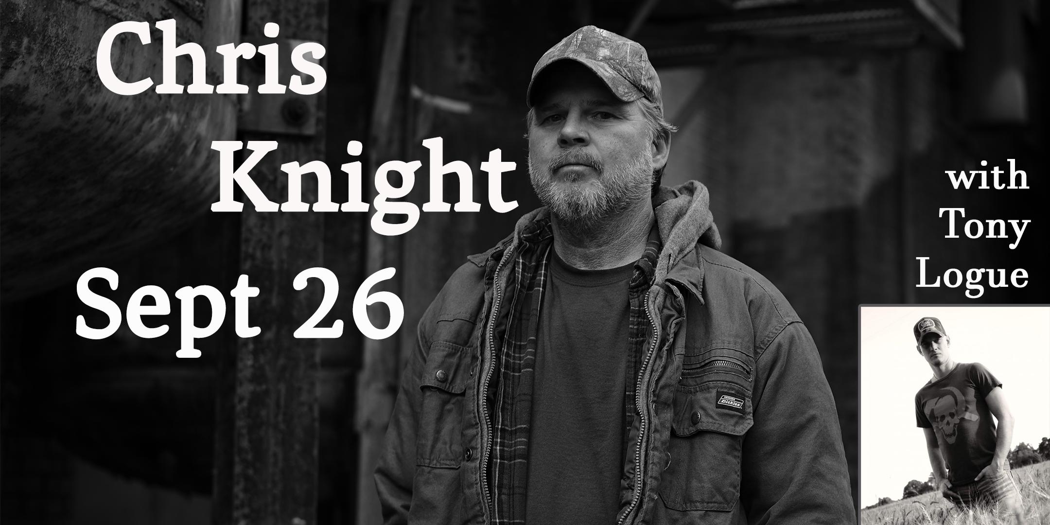 Chris Knight - Sept 26