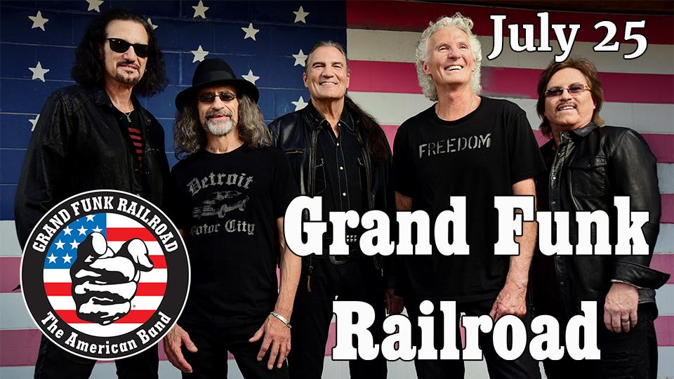 Grand Funk Railroad - July 25