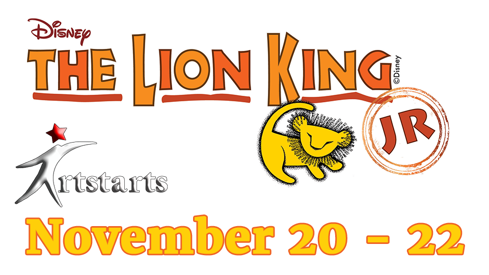 Lion King Jr - November 20 - 22